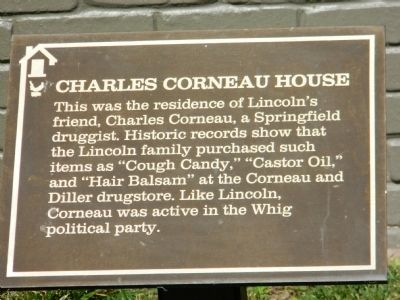 Charles Corneau House Marker image. Click for full size.