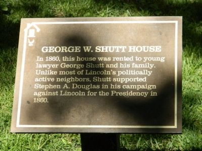 George W. Shutt House Marker image. Click for full size.