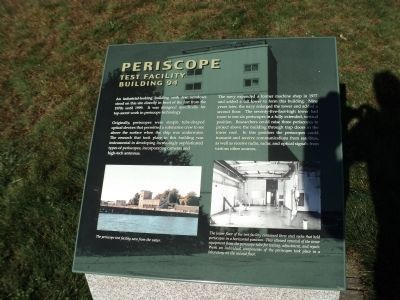 Periscope Test Facility Marker image. Click for full size.