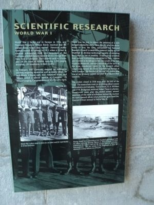 Scientific Research Marker image. Click for full size.