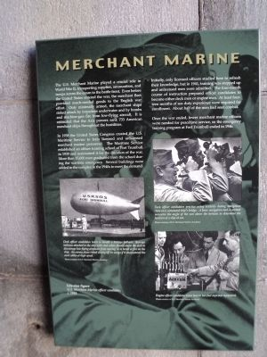 Merchant Marine Marker image. Click for full size.