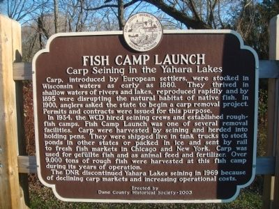 Fish Camp Launch Marker image. Click for full size.