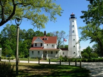 North Point Light Station image. Click for full size.