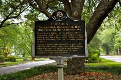 Eufaula Marker image. Click for full size.