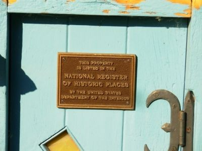 National Register Plaque on Windmill image. Click for full size.