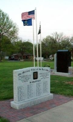 Topeka Chapter, The Military Order of the World Wars Marker image. Click for full size.