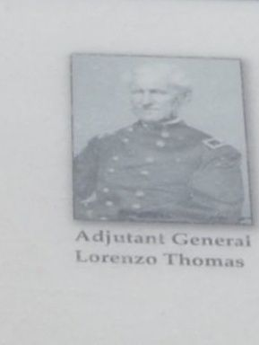 Adjutant General Lorenzo Thomas image. Click for full size.