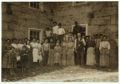 Matoaca Mill Workers image. Click for full size.