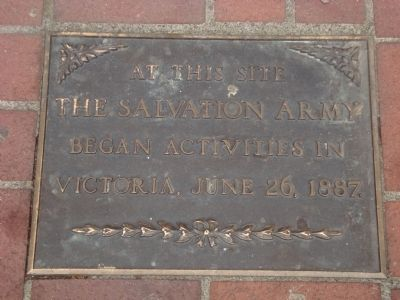 Salvation Army Marker image. Click for full size.