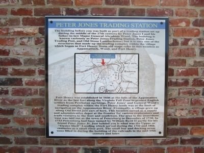 Peter Jones Trading Station Marker image. Click for full size.