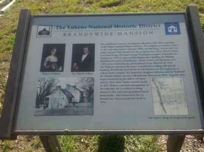 Brandywine Mansion Marker image. Click for full size.