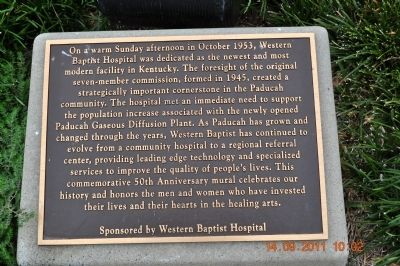 Western Baptist Hospital Marker image. Click for full size.
