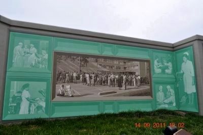 Western Baptist Hospital Mural image. Click for full size.