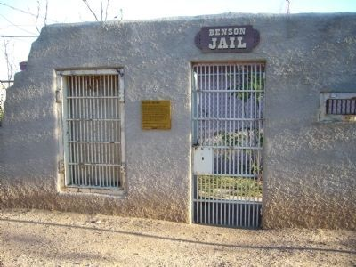 Benson Jail and Marker image, Touch for more information