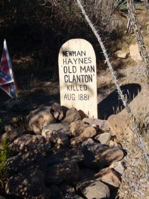 Old Man Clanton image. Click for full size.