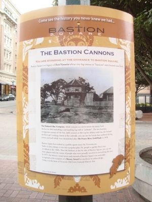 The Bastion Cannons Marker image. Click for full size.