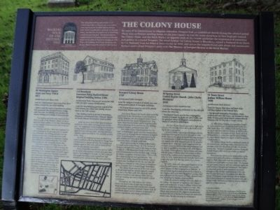 The Colony House Marker image. Click for full size.