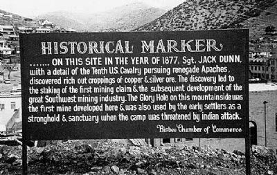Discovery of Ore Marker image. Click for full size.