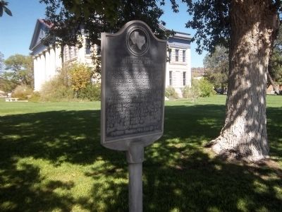 Confederate President Jefferson Davis Historical Marker image. Click for full size.