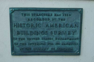 The Cliff House [plaque on the wall beneath the <i>Parallel</i> Marker] image. Click for full size.