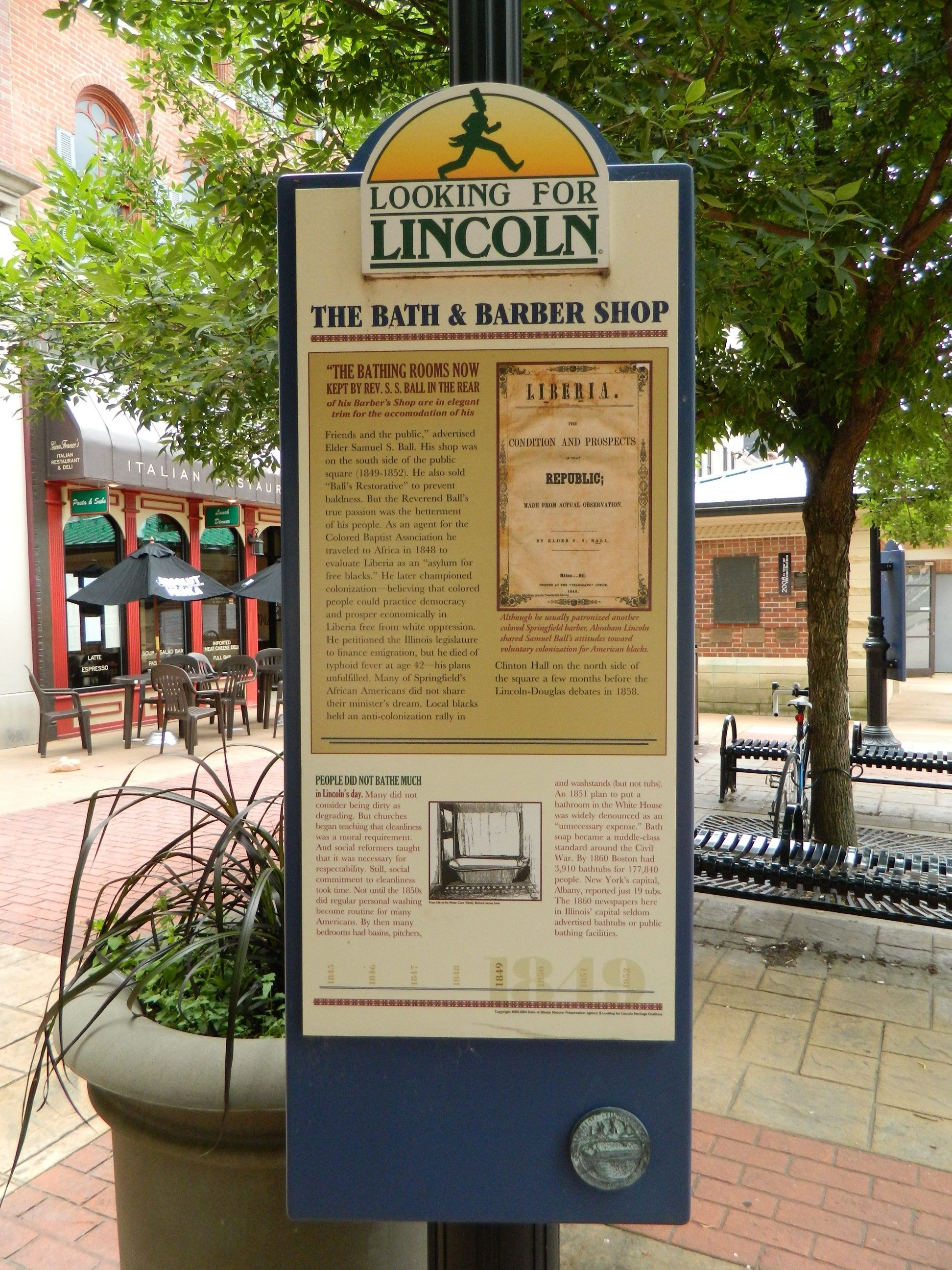 The Bath & Barber Shop Marker