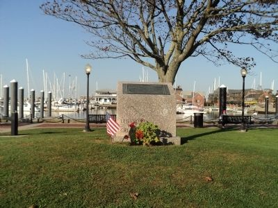 Marker in Newport image. Click for full size.