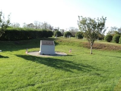 Memorial in Fort Adams State Park image. Click for full size.