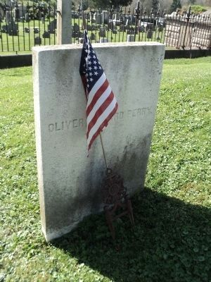Grave of Oliver Hazard Perry image. Click for full size.