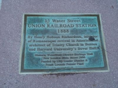 35 Water Street Marker image. Click for full size.