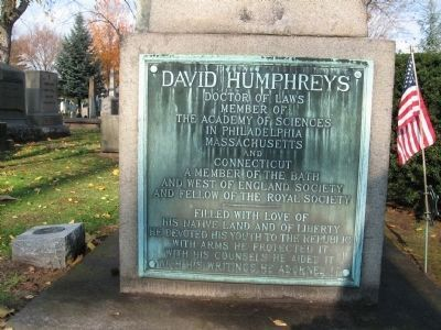 David Humphreys Gravestone image. Click for full size.