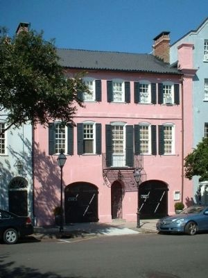Col. Othneil Beale's House , 99 -101 East Bay Street, Charleston image. Click for full size.