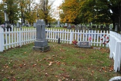 Gravesite of Dr. Mary Edwards Walker image. Click for full size.