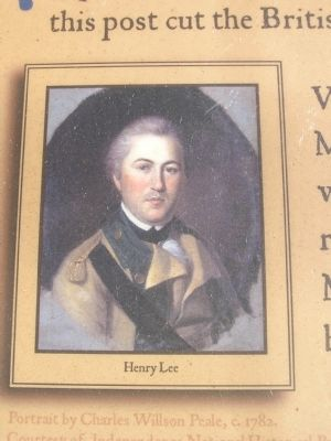 Picture of Henry Lee on the marker image. Click for full size.