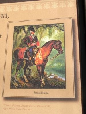 Picture of Francis Marion on the marker image. Click for full size.