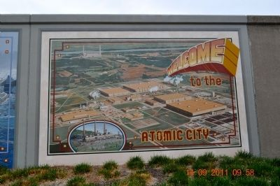 Welcome to the Atomic City Marker image. Click for full size.