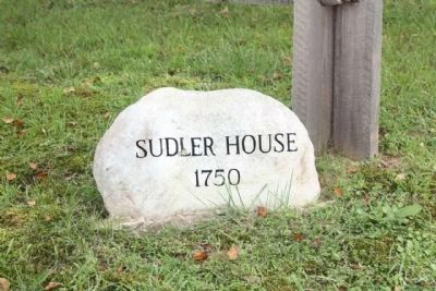 Sudler House 1750 image. Click for full size.