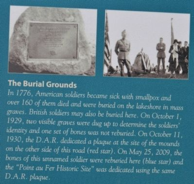 Point au Fer Burial Grounds image. Click for full size.