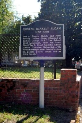 Eugene Blakely Sloan (1922-1969) Marker image. Click for full size.