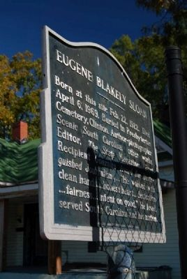 Eugene Blakely Sloan Marker image. Click for full size.