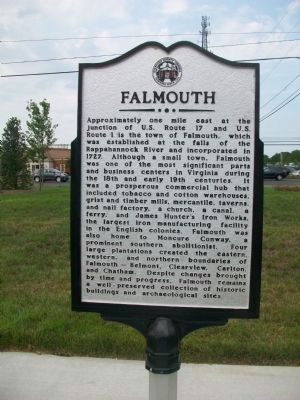 Falmouth Marker image. Click for full size.