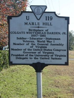 Marle Hill Marker image. Click for full size.