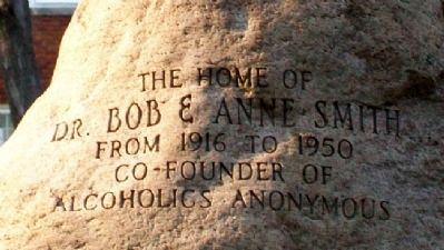 Dr. Bob's Home Marker image. Click for full size.