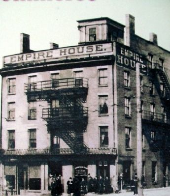 Empire House Photo on Creating Crossroads of Commerce Marker image. Click for full size.