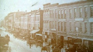 Photo on Creating Crossroads of Commerce Marker image. Click for full size.