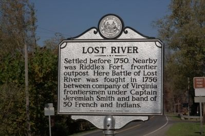 Lost River Marker image. Click for full size.