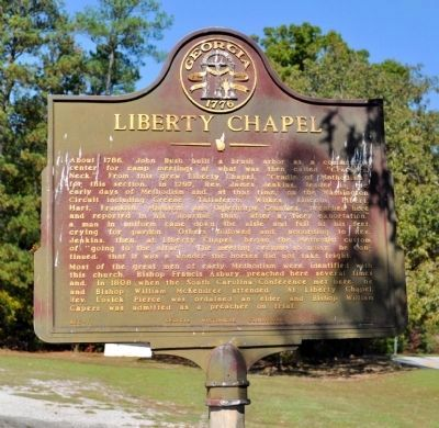 Liberty Chapel Marker image. Click for full size.