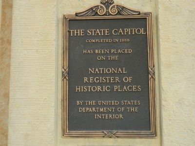 The State Capitol Marker image. Click for full size.