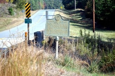 Famous Indian Trail Marker image. Click for full size.