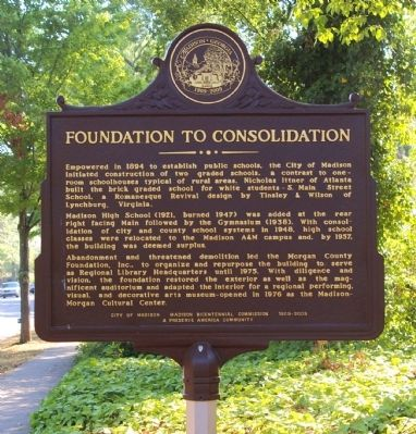 Foundation to Consolidation Marker image. Click for full size.