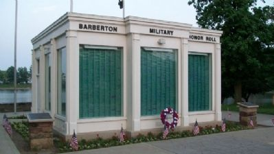 Barberton Military Honor Roll image. Click for full size.